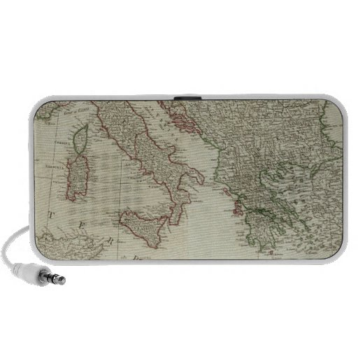 Europe divided into its kingdoms,  empires portable speaker