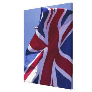 Europe, England, British flag Canvas Prints