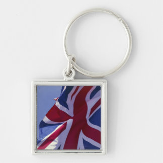 Europe, England, British flag Keychain