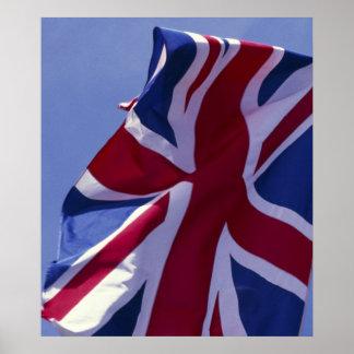 Europe, England, British flag Poster
