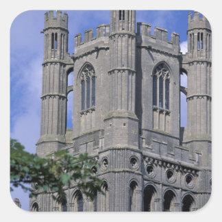Europe, England, Cambridgeshire, Ely. Ely 2 Square Sticker