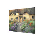 Europe, England, Chippenham. Early morning light Canvas Print