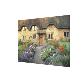 Europe, England, Chippenham. Early morning light Canvas Print