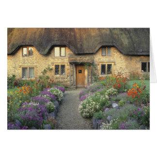 Europe, England, Chippenham. Early morning light Card