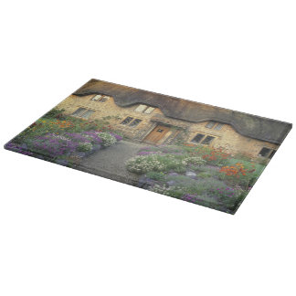 Europe, England, Chippenham. Early morning light Cutting Board