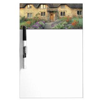 Europe, England, Chippenham. Early morning light Dry-Erase Board