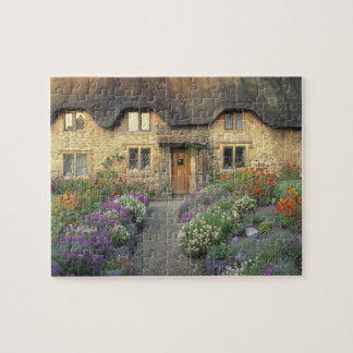 Europe, England, Chippenham. Early morning light Jigsaw Puzzle