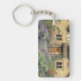 Europe, England, Chippenham. Early morning light Double-Sided Rectangular Acrylic Keychain