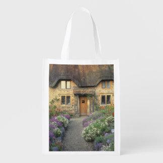 Europe, England, Chippenham. Early morning light Reusable Grocery Bag