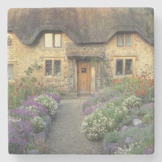 Europe, England, Chippenham. Early morning light Stone Coaster