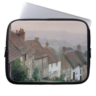 Europe, England, Dorset, Gold Hill, Shaftesbury. Computer Sleeves