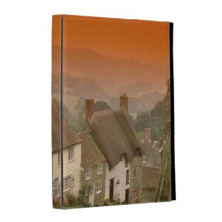 Europe, England, Dorset, Shaftesbury. Gold hill iPad Case