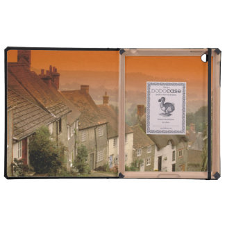 Europe, England, Dorset, Shaftesbury. Gold hill Covers For iPad