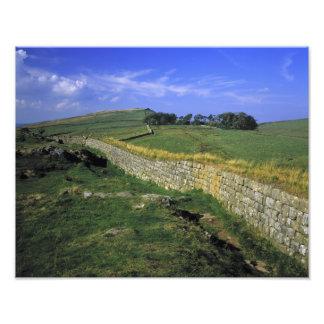 Europe, England, Hadrian's Wall. The stones of Photo Print