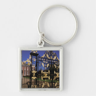 Europe, England, London. Gilded gate outside of 2 Keychain