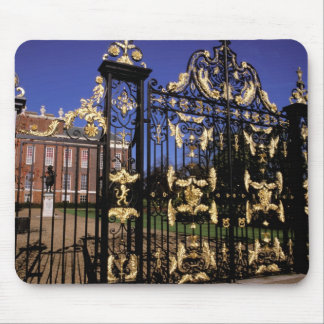 Europe, England, London. Gilded gate outside of 2 Mouse Pad