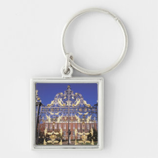 Europe, England, London. Gilded gate outside of Keychain