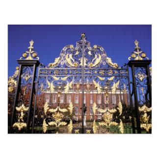 Europe, England, London. Gilded gate outside of Postcard