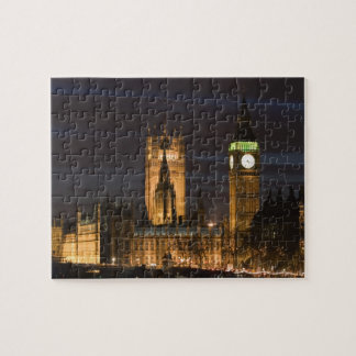 Europe, ENGLAND, London: Houses of Parliament / 2 Jigsaw Puzzle