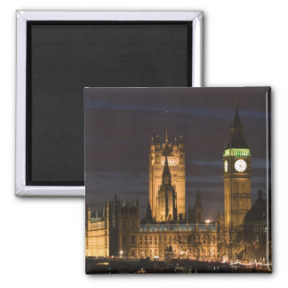 Europe ENGLAND London Houses of Parliament 2 Fridge Magnets