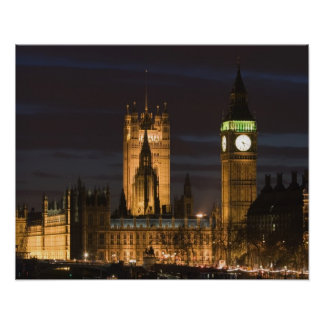 Europe, ENGLAND, London: Houses of Parliament / 2 Print