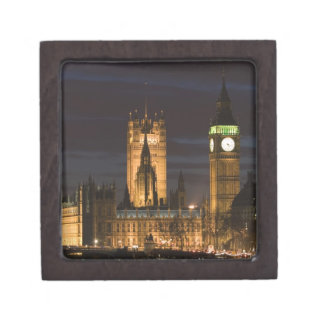 Europe, ENGLAND, London: Houses of Parliament / 2 Premium Gift Box