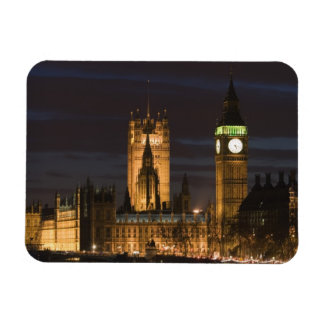 Europe ENGLAND London Houses of Parliament 2 Rectangular Magnet