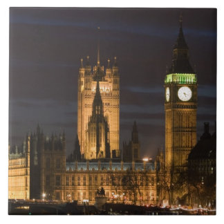 Europe, ENGLAND, London: Houses of Parliament / 2 Tile