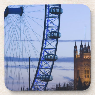 Europe, ENGLAND, London: Houses of Parliament Beverage Coasters