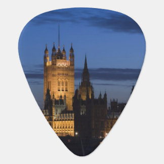 Europe, ENGLAND, London: Houses of Parliament / Guitar Pick