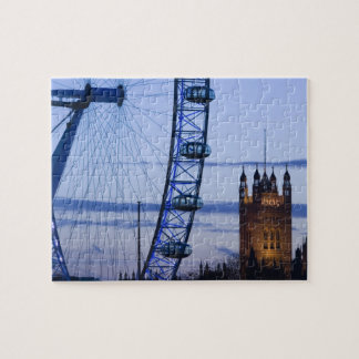 Europe, ENGLAND, London: Houses of Parliament Jigsaw Puzzle