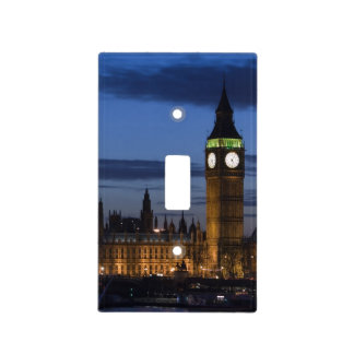 Europe, ENGLAND, London: Houses of Parliament / Switch Plate Cover