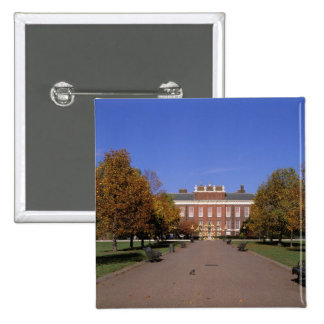 Europe, England, London. Kensington Palace in 2 Inch Square Button