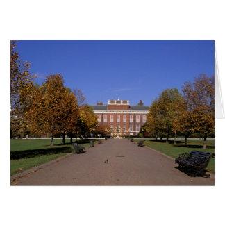 Europe, England, London. Kensington Palace in Card