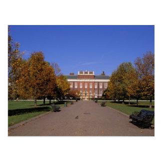 Europe, England, London. Kensington Palace in Postcard