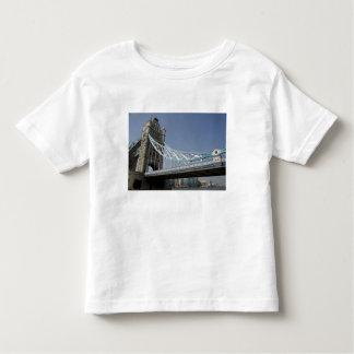 Europe, England, London. Tower Bridge over the 2 Toddler T-shirt