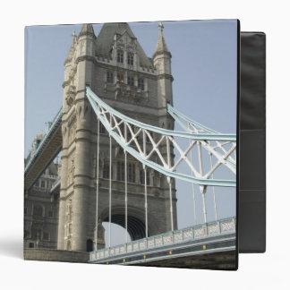 Europe, England, London. Tower Bridge over the Vinyl Binder