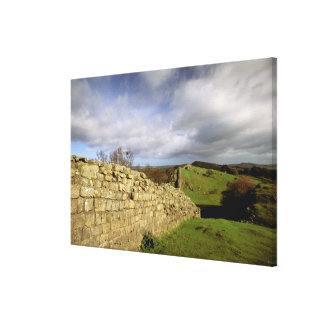 Europe, England, Northumberland. Hadrian's Canvas Print
