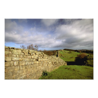 Europe, England, Northumberland. Hadrian's Photo Print