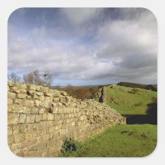 Europe, England, Northumberland. Hadrian's Square Sticker