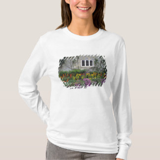 Europe, England, Teffont Magna. Flowers fill T-Shirt