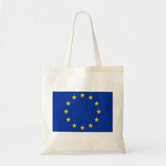 Europe flag tote bag