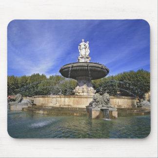 Europe, France, Aix-en-Provence. Fontaine de Mousepads
