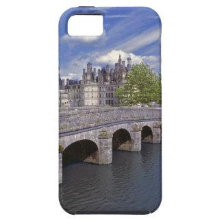 Europe, France, Chambord. A stone bridge leads iPhone SE/5/5s Case
