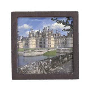 Europe, France, Chambord. Imposing Chateau Gift Box