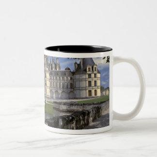 Europe, France, Chambord. Imposing Chateau Two-Tone Coffee Mug