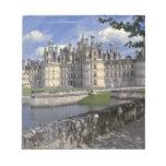 Europe, France, Chambord. Imposing Chateau Memo Notepad
