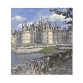Europe, France, Chambord. Imposing Chateau Note Pad