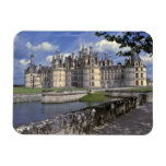 Europe, France, Chambord. Imposing Chateau Vinyl Magnets