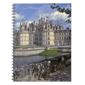 Europe, France, Chambord. Imposing Chateau Spiral Notebook